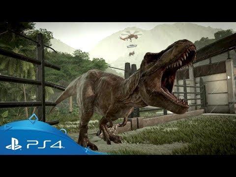 Jurassic World Evolution   Gameplay Trailer   PS4