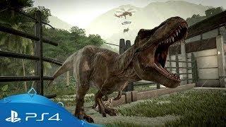 Jurassic World Evolution | Gameplay Trailer | PS4