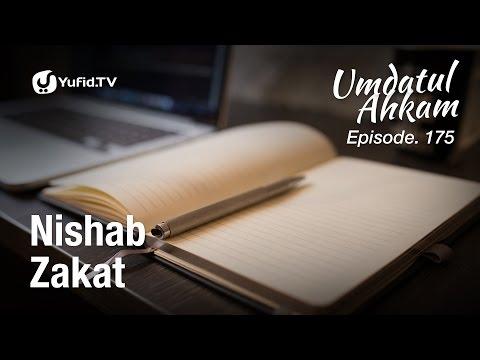 Umdatul Ahkam Hadis 178 - Zakat (Nishab Zakat) - Ustadz Aris Munandar (Eps. 175)