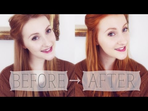 Lush's Henna Hair Dye - Tutorial + Review