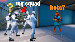 Fortnite squads but we pretend to be HENCHMEN