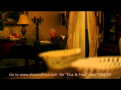 Christopher Plummer Magnificently plays Piano on a break at shooting of ELSA & FRED film.