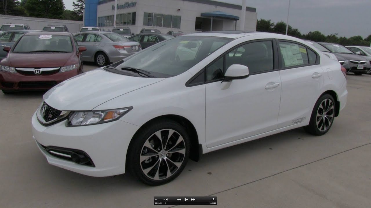 Honda Civic Sedan 2014 White