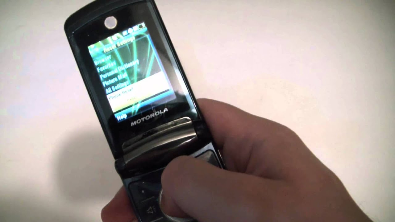 reset motorola flip phone to factory default can trade
