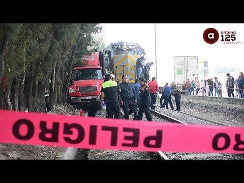 Accidente de tren en Av. Comonfort deja una persona fallecida