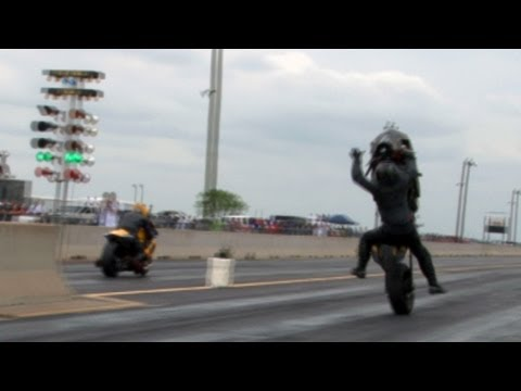 TX2K12 Turbo Drag Bike Wreck