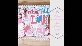 Valentines Day Embellishment Box  Crafty Manipulators Swap  Project Share