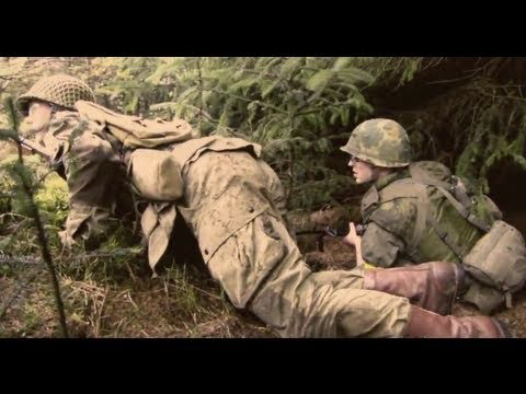 Airsoft War M1A1. MP5 POW Scotland HD