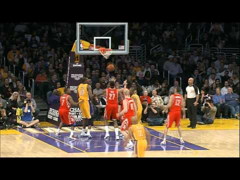 Kobe Assists Himself