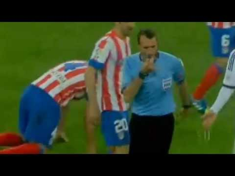 Jose Mourinho is Red Card ( Final Copa Del Rey 2013 )
