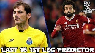 FC PORTO V LIVERPOOL FC 1ST LEG LAST 16 FIFA 18 PREDICTOR