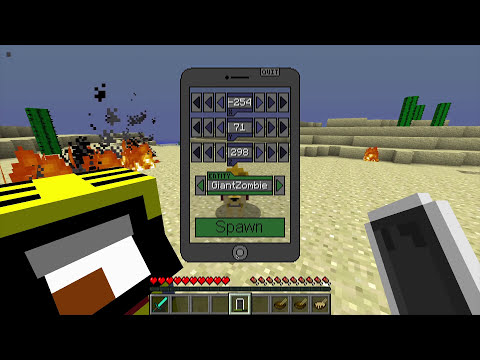 Minecraft: Think's Lab - Kevin's iPod - Explosions & Pandora