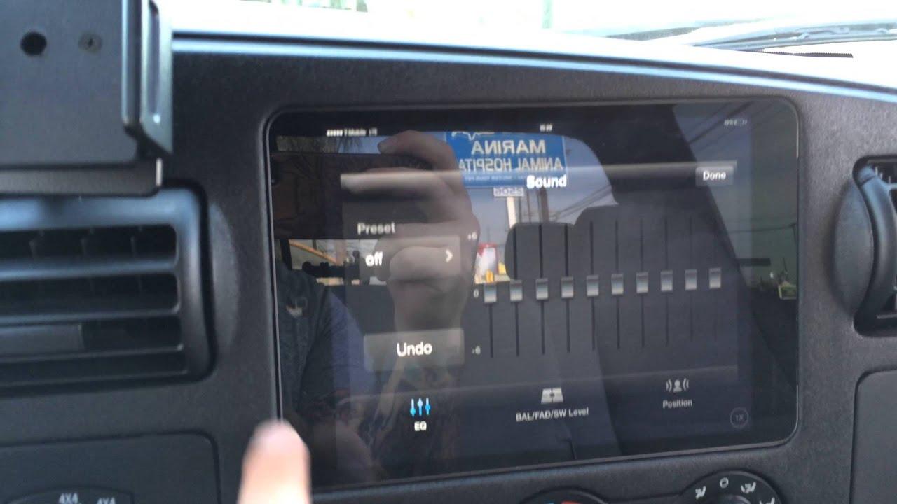 Ford F250 Ipad Mini Slider Kit Installation Sony Radio App
