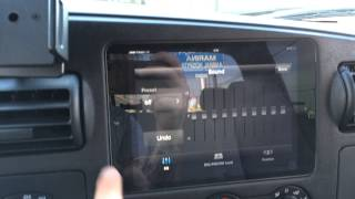 Ford F250 iPad Mini Slider Kit installation Sony Radio App Control SoundmanCa Official Installer