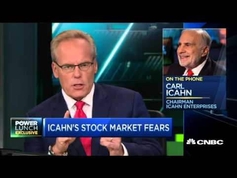 Carl Icahn - Markets will have 'a day of reckoning'