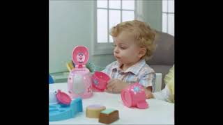 Smyths Toys - Fisher-Price Laugh & Learn Sweet Manners Tea Set