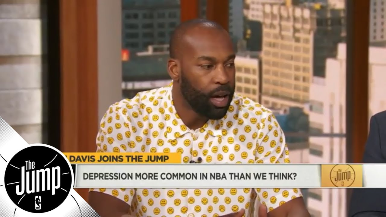 Baron Davis: Depression is 'absolutely' more common in NBA than we think   The Jump   ESPN