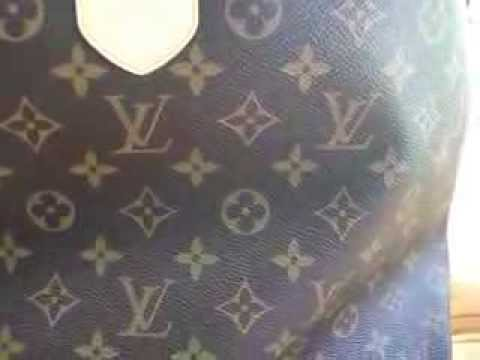 My Louis Vuitton and Longchamp travel bags