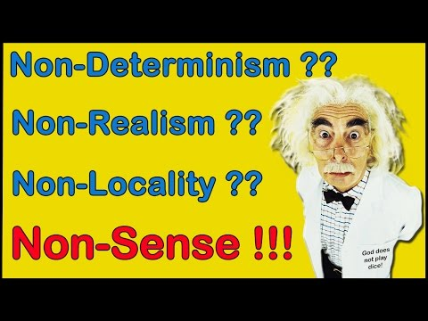 Quantum Physics & Free Will - Bell's Theorem, Determinism, Causality, Non-Locality, Realism