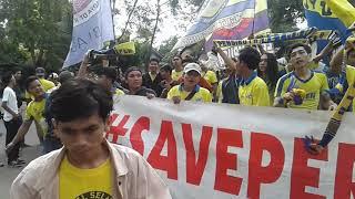 PERSIKOTA TANGERANG Awaydays Stadion Maulana yusuf Serang #saveBenteng #savepersikota
