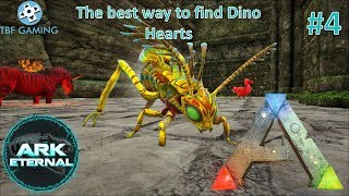 Alpha Saber and Dino Heart Bug E04 Center Eternal Ark Survival Evolved Modded Series