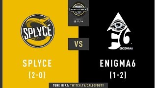 Splyce vs Enigma6 | CWL Pro League 2019 | Division B | Week 3 | Day 4