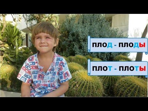 Видео как проверить глухой согласный в корне слова