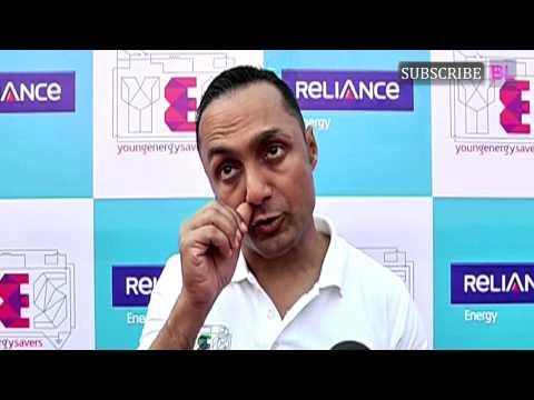 Rahul Bose   Run To Save Runathon   YES Bank Initiative Flag off