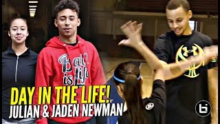 "Julian & Jaden Newman: A Day In The Life!! Julian Addresses ""Overrated"" Chants & More!!"