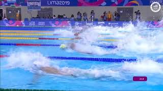 Nathan Adrian and Michael Chadwick Finish Top 3 in 100m Freestyle  | Pan American Games Lima 2019