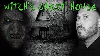 ATTACKED BY GHOST WITCH AT 3AM (THE WITCH'S HOUSE INVESTIGATION)   OmarGoshTV