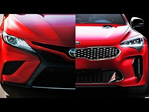 Почему все ждут новую Тойота Камри? и крутая Киа Стингер! Clickoncar news #11