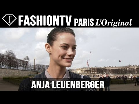 Anja Leuenberger: My Look Today | Model Talk | Fashiontv video
