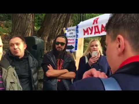Надежда Савченко поговорила с митингующими под Радой | Страна.ua