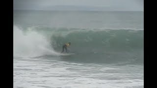 Surfing at Tuamotu Island Gisborne New Zealand