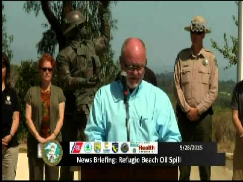 News Briefing Refugio Beach Oil Spill: May 28th, 2015