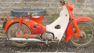 Bộ sưu tập những chiếc xe gắn máy ở VN trước 1975.