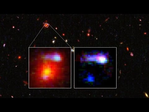 Galaxies So Big They Act Like Cosmic Magnifying Glasses