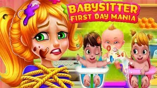 Babysitter First Day Mania - Baby Care Crazy Time - TabTale -  fun girl kids games
