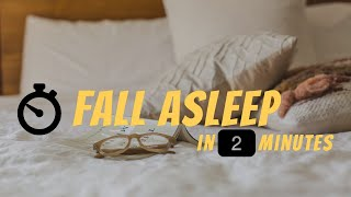 How to Fall Asleep in 2 Minutes According to the U.S. Military
