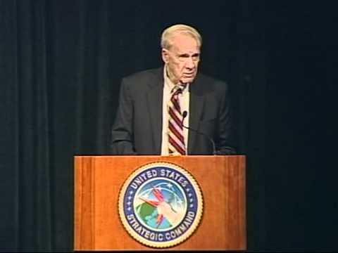 (1 of 2) Dr. James Schlesinger at the 2010 Strategic Deterrence Symposium