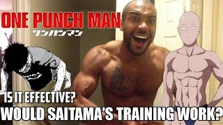 Would One Punch Man Saitama's Fitness Training Actually Work?