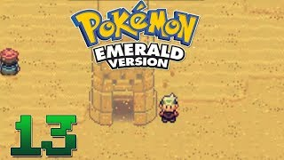Let's Play Pokemon Emerald Part 13 - Mirage Tower