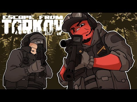 THIS GAME IS INTENSE AF!   Escape from Tarkov (w Ohmwrecker)
