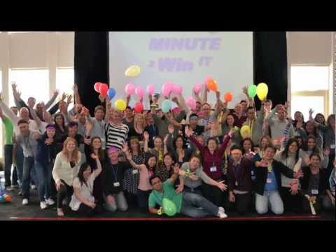 Minute 2 Win It Fun Team Building Activities Or Office Games By Thrill.au video