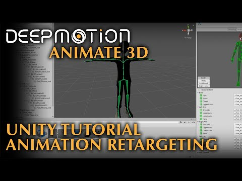 DeepMotion: Unity 3D Tutorial - Retargeting Animations | Animate 3D