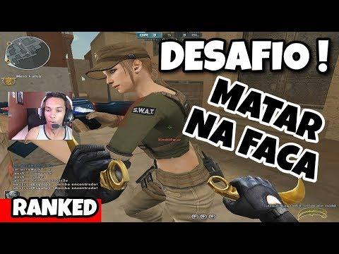 DESAFIO MATAR NA FACA | ARMAS DA ATT | CROSSFIRE AL