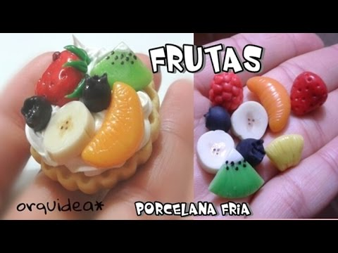 Como hacer frutas de porcelana fria para decoden youtube for Verduras francesas
