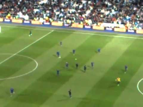 Salida de jugadores del  Barcelona.  Real Madrid Barcelona Enero 2012