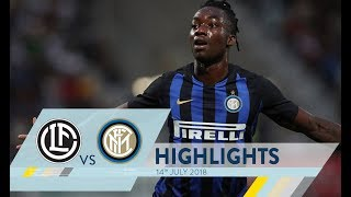 LUGANO-INTER 0-3 | Highlights | 110 Summer Cup
